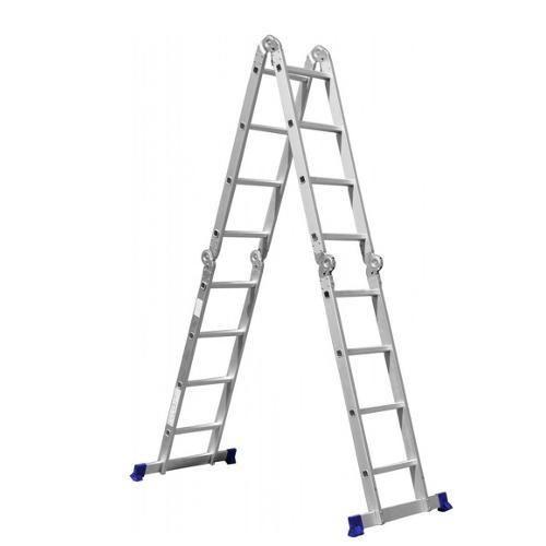 Escada Multifuncional 4x4 16 Degraus Sem - Shoptime.com