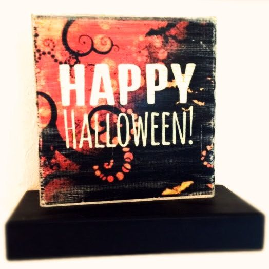 Happy Halloween Rustic Wall Decor  Part 2 of by MegAndMosClubhouse, $16.99