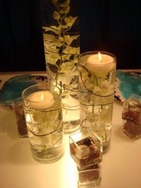 submerged centerpiece