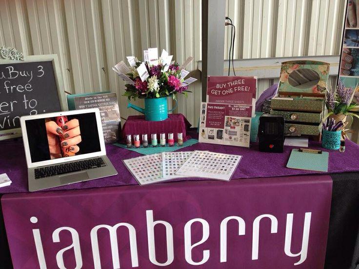 Booth. photos of each wrap choice