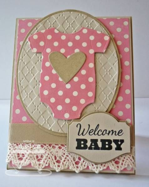 Welcome Baby Card can also be an invitation!