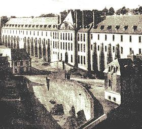 Le bagne de Brest vers la fin du XIXesiècle ou au début du XXesiècle
