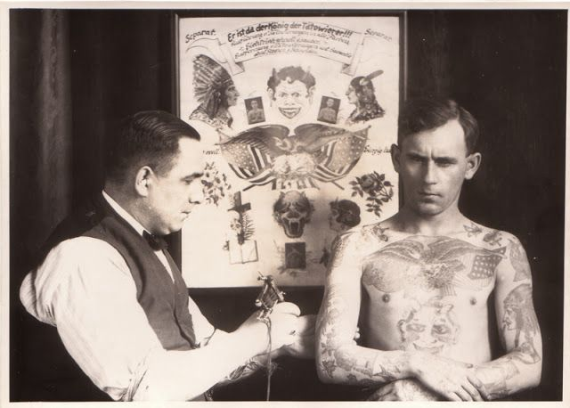 Speedboys: Christian Warlich tattoo