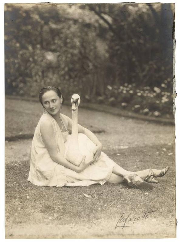 Anna Pavlova and Jack 1927
