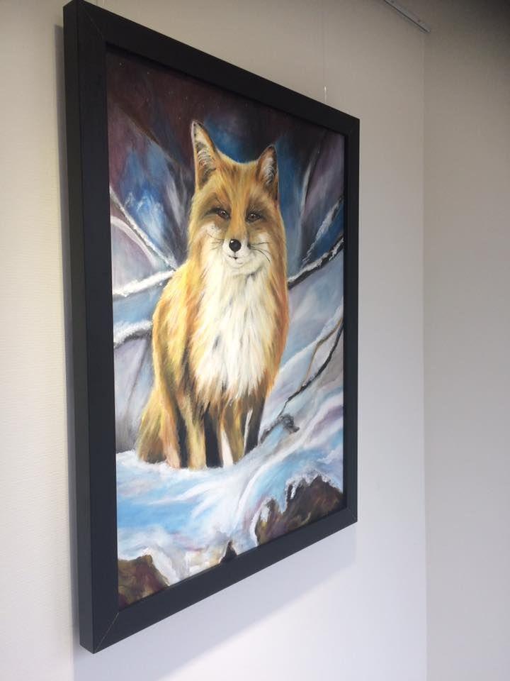 Fox in acryl