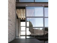 Porta-finestra a taglio termico scorrevole in acciaio FERROFINESTRA TAGLIOTERMICO | Porta-finestra scorrevole - Mogs