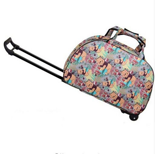 Friday Women Men Carry-Ons Travel Luggage Bags Wheels Suitcase For Travel Luggages Trolley Rolling Luggage Xmas Gift 2016 Hot