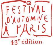 43eme édition du Festival d'automne à Paris