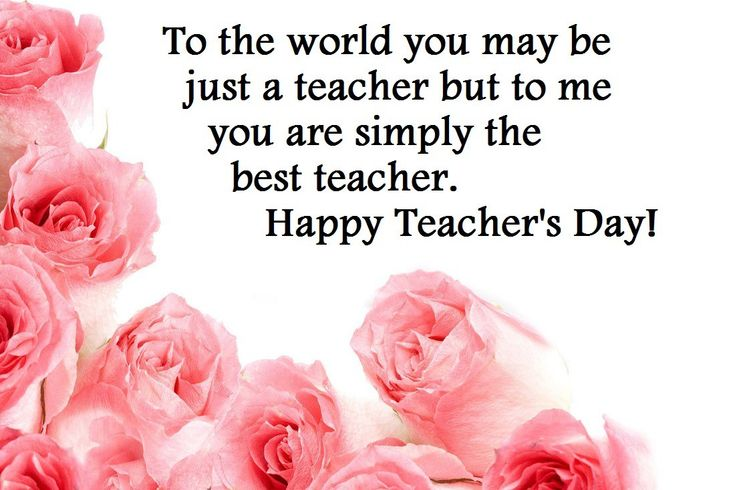 happy teachers day card image