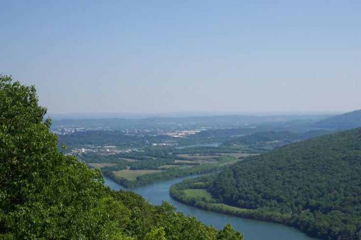 The TN River, Chattanooga