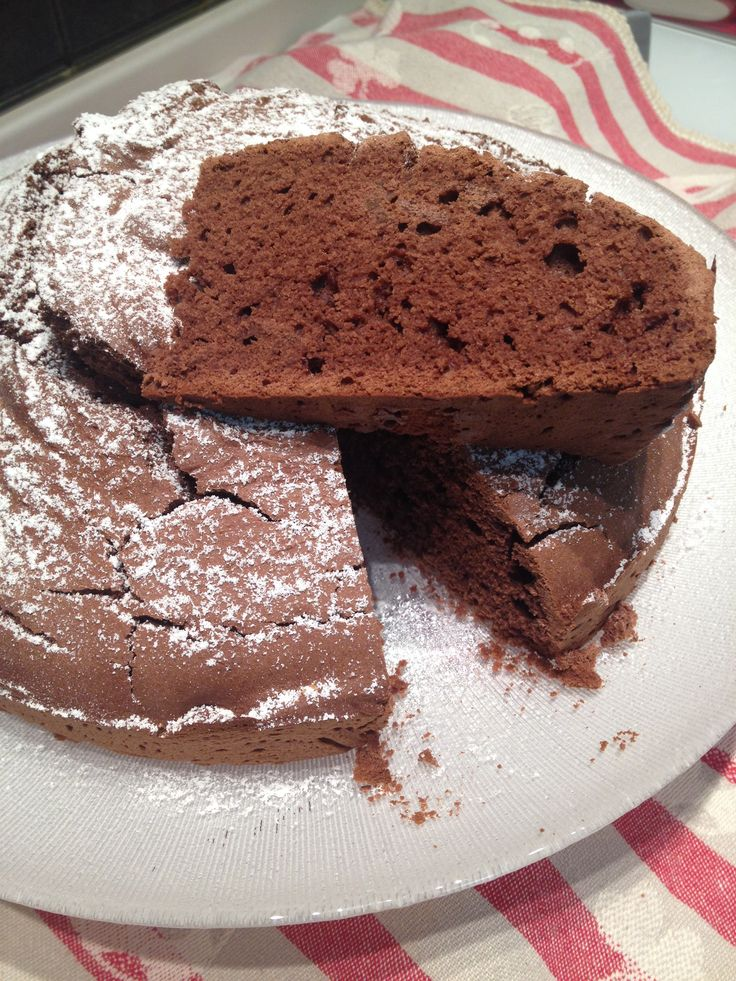 Cake With chioccolate gluten free...!! Diy