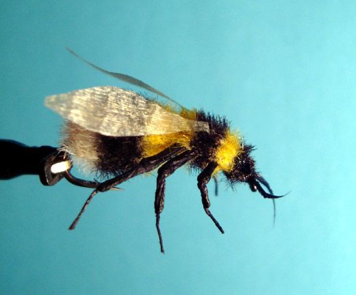 Humble bumble v3.5 - Realistic Fly Tying - Fly Tying - supposed to be a link to the recipe here