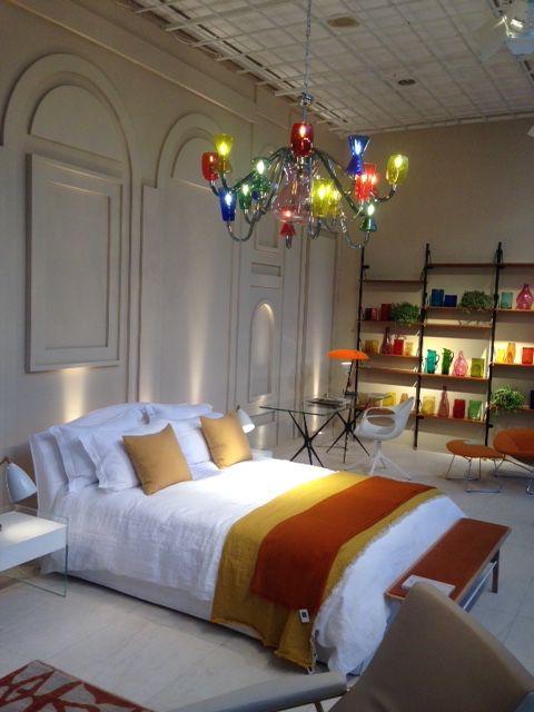 K1 chandelier at The Conran shop London - Designed by Karim Rashid for Purho.