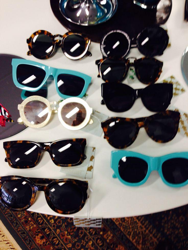 Karen walker sunglasses- love this seasons