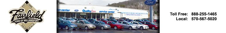 fairfieldfordofwilliamsport. Located at Danville, Offer quality used car for sale. We are dealership for new and used car for you.