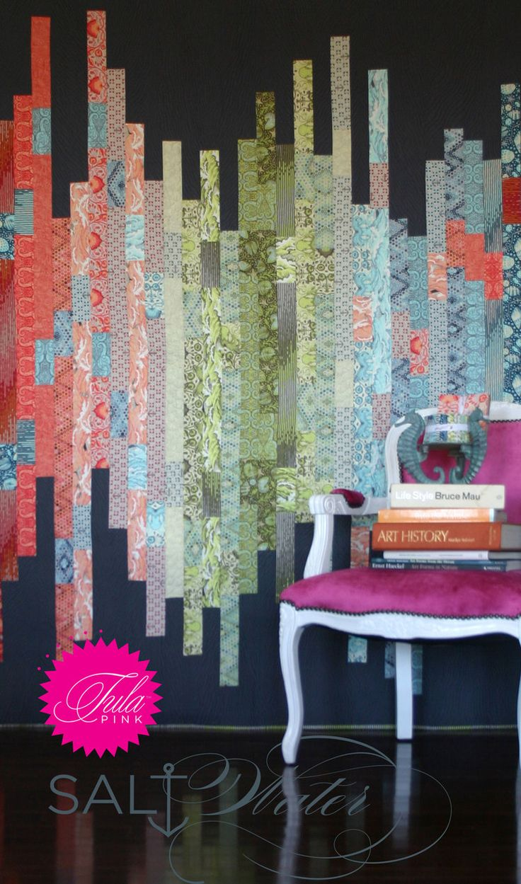 Free Pattern Shoreline Quilt By Tula Pink Strip