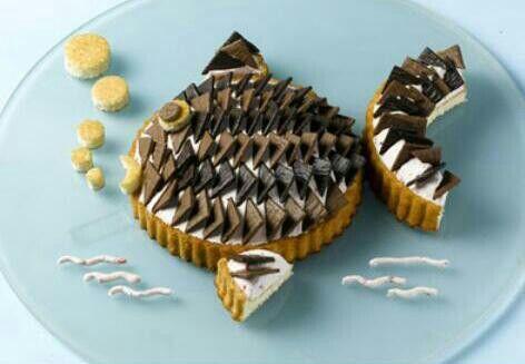 funny Cake :-) | Lebensmittel essen, Lustige kuchen, Fisch ...