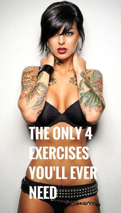 The 4 Most Useful Exercises You Will Ever Need