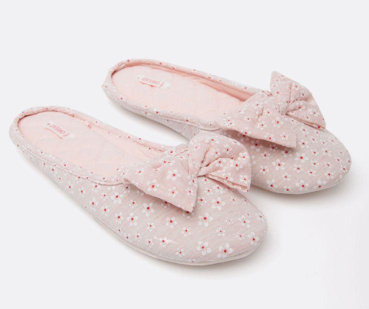 Туфли без пяток розовые - OYSHO