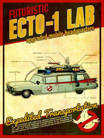 Ghostbusters - Ecto-1 Lab by Christian Petersen