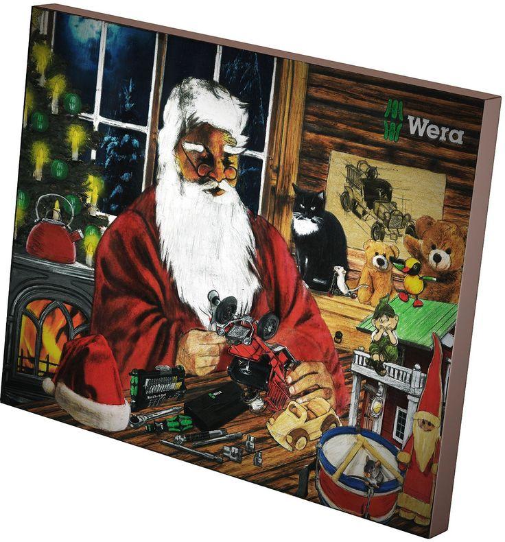 Wera Werkzeug Adventskalender 2014, 05135995001: Amazon.de: Baumarkt