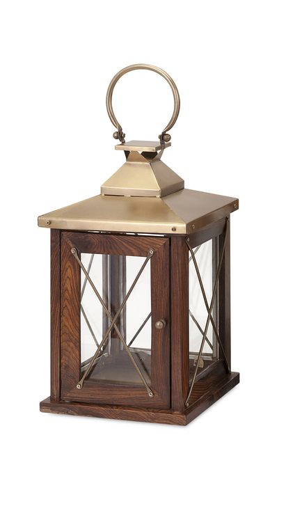 "Beth Kushnick Small Lantern 15.5""""h x 9""""w x 9"""""
