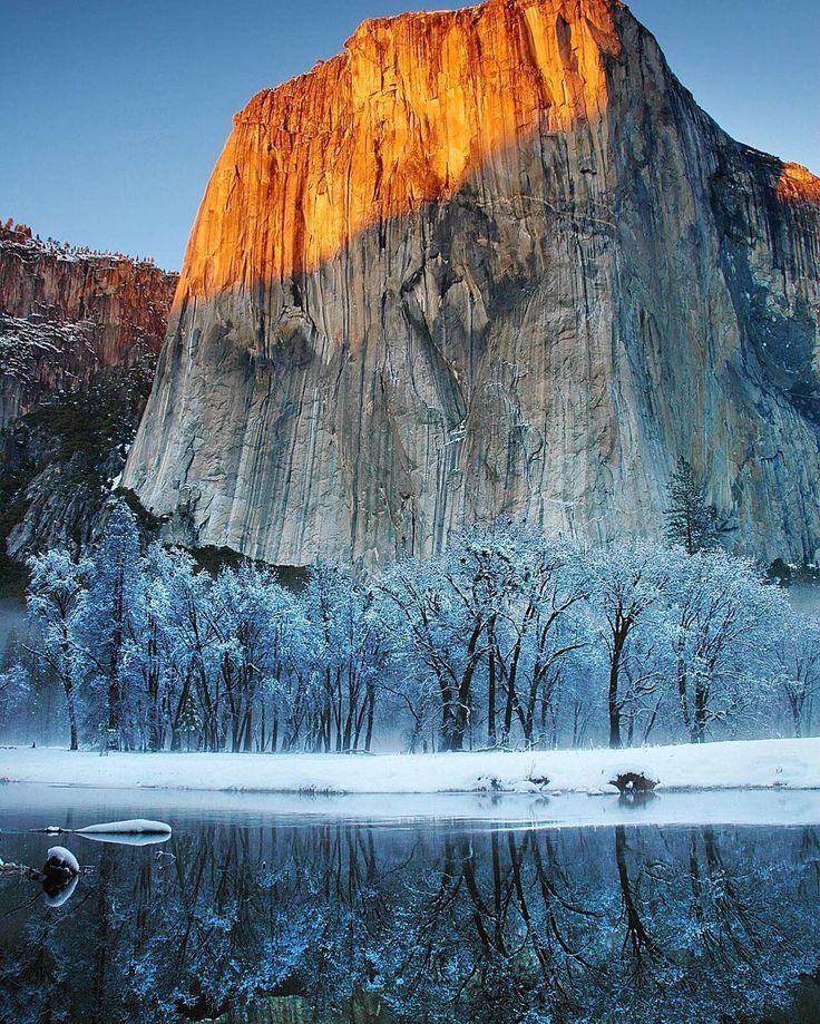 El Capitan California USA.  #amazing_places_to_visit #california #mountains #hiking #adventure #trek #trip #explore #apple
