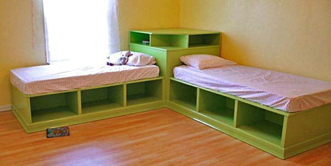 Pix For > White Twin Bed Frame With Storage