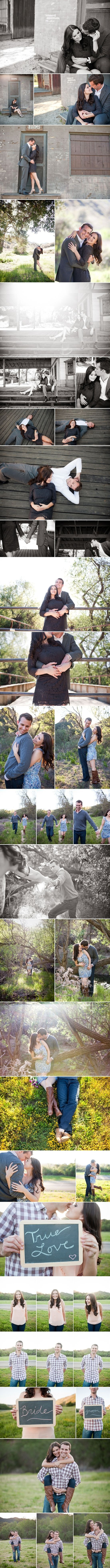 engagement shoot...really like the variety of perspectives... lovely