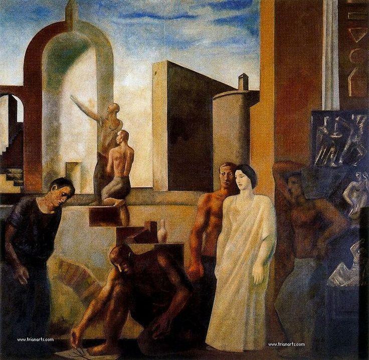 Mario Sironi: El Novecento italiano » Trianarts