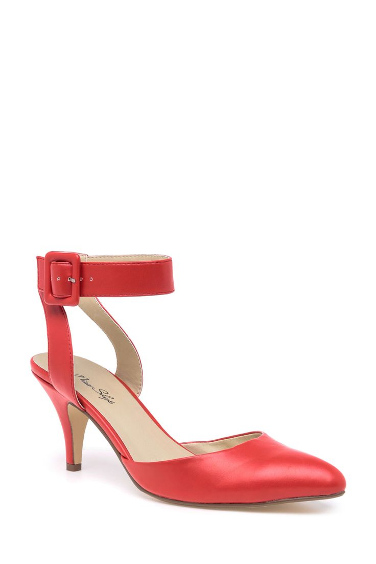 Miss Shop - Nadia Red Pump | Myer