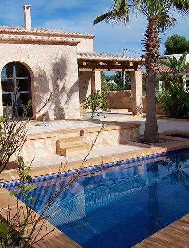 Ferienhaus Cala Santanyi Mallorca mit Pool nahe Meer
