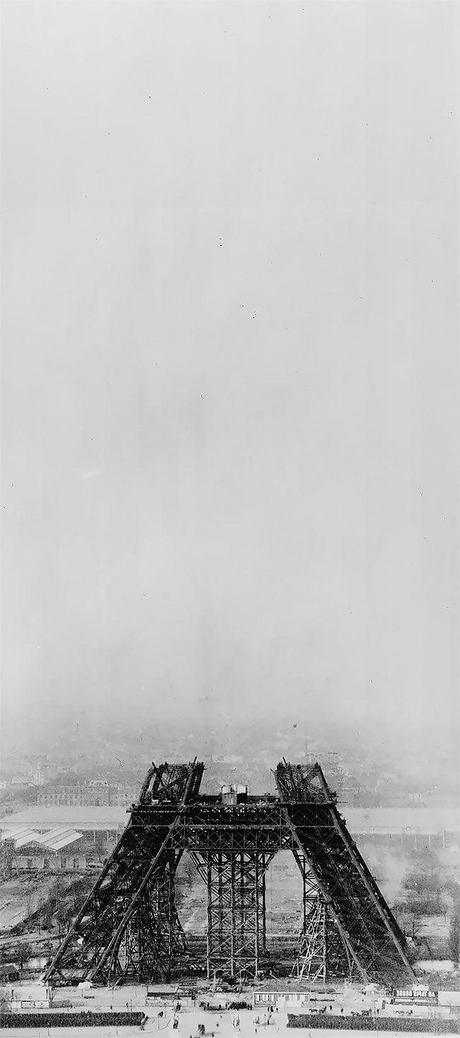 Fotografias Históricas da Construção da Torre Eiffel - STEFANY