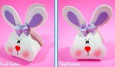 Trouxinha de coelho feita de EVA - Com moldes! | Pra Gente Miúda