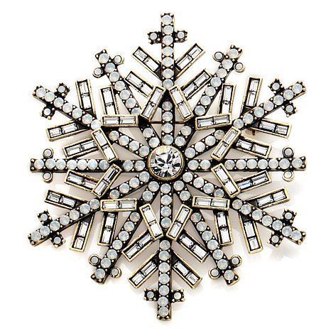 This is one snowflake you won't want to brush off.