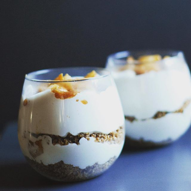 ... parfait oats layered parfaits recipes hazelnut crumble forward spiced