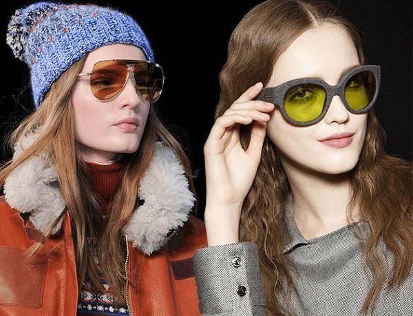 cool 2015 Sonbahar Kış Gözlük Trendleri
