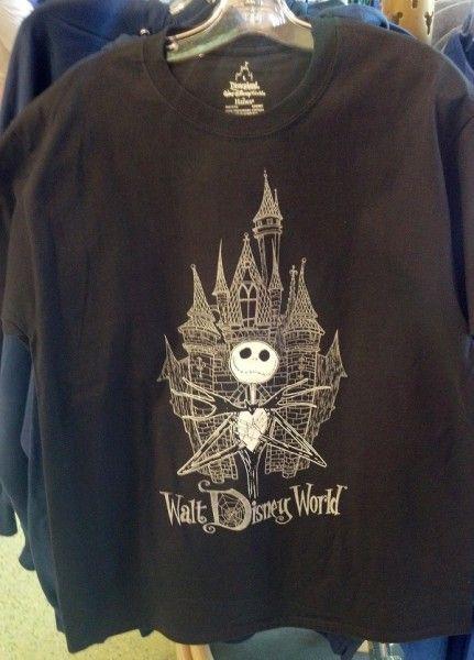 Merchandise Spotting: Silhouette Mickey Tees & Jack Skellington at Walt Disney World | The Disney Blog