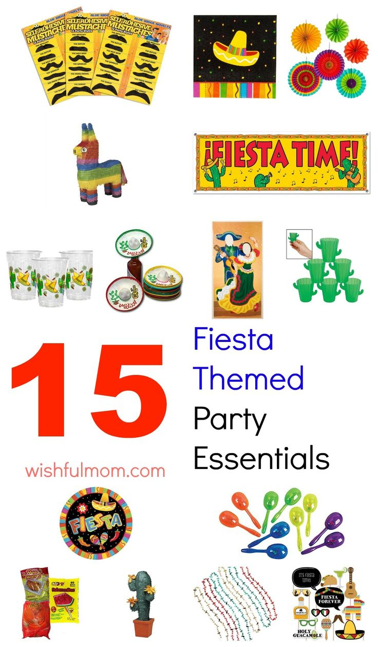 Are your ready for Cinco de Mayo? Grab these stuff to make your Fiesta themed party rock.