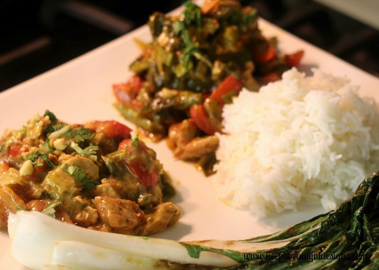 Delicious Asian Feast. Easy, fast and yummy!