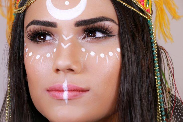 Aprenda a fazer uma maquiagem fácil para você arrasar nesse carnaval ou em qualquer festa à fantasia.
