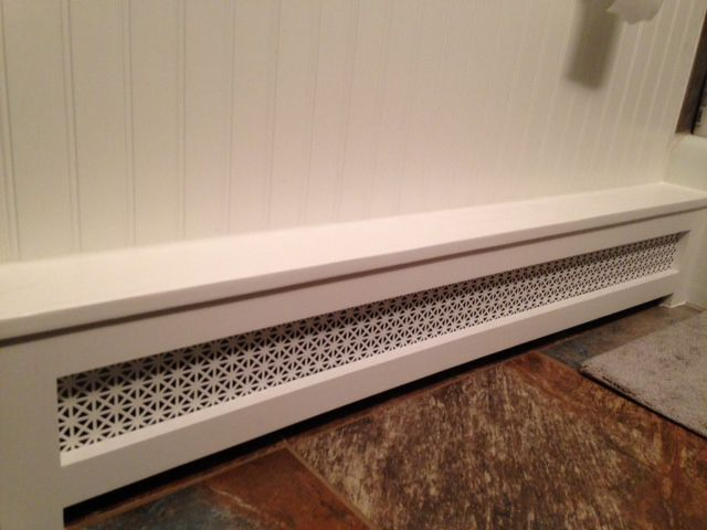 Radiator Covers by SMK Enterprises - Baseboard Covers