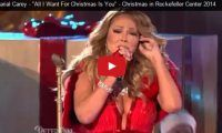 "Mariah Carey – ""All I Want For Christmas Is You"" – Christmas in Rockefeller Center 2014 Everyone's going on about how terrible Maria Carey sounded at the Christmas Rockefeller Center on Wednesday night – and she was, but only just a bit. She wasn't as good at singing those high pitches that she's famous for, but hey!, we still..."