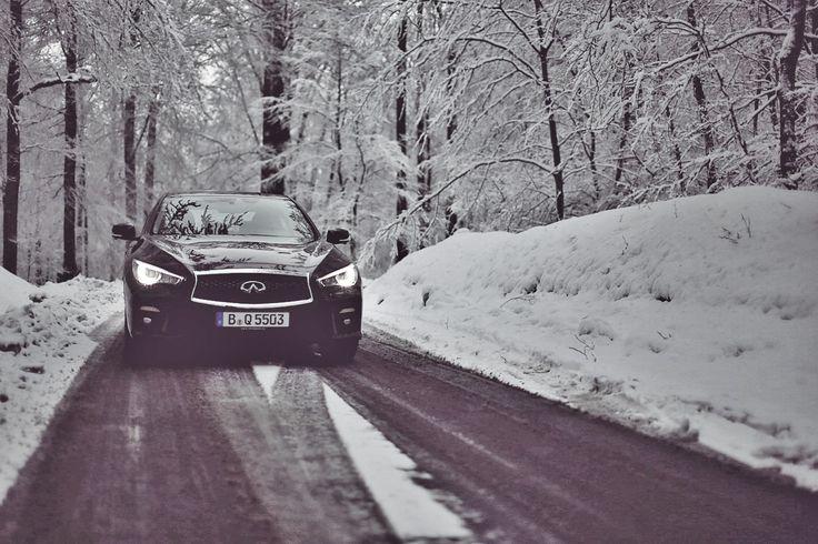 Impressionen: Infiniti Q50s AWD Hybrid