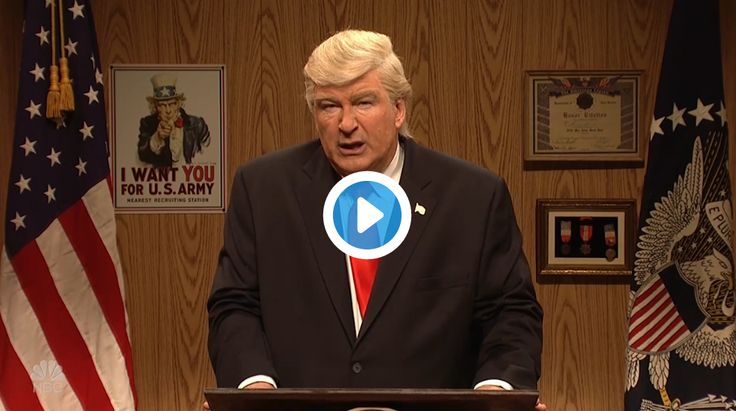 """Alec Baldwinreturned to """"Saturday Night Live"""" as POTUS to tout all his supposed wins this week and to ensure he still has his fans' support-or lack thereof it.  """"I met with leaders from Chin…"""