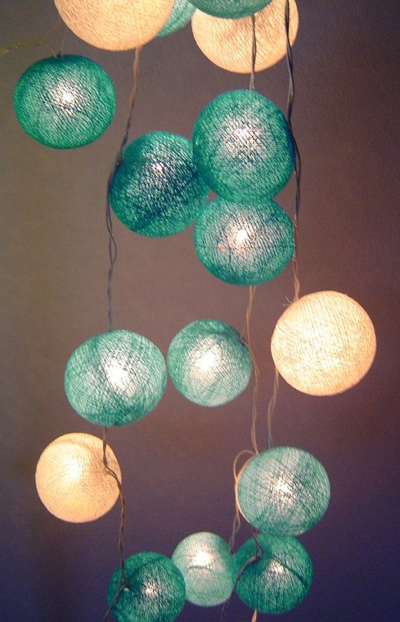 17 Best Images About Diy Cotton Ball Lights On Pinterest