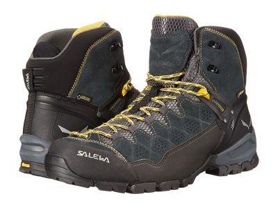 SALEWA - Alp Trainer Mid GTX (Carbon/Ringlo) Men's Shoes