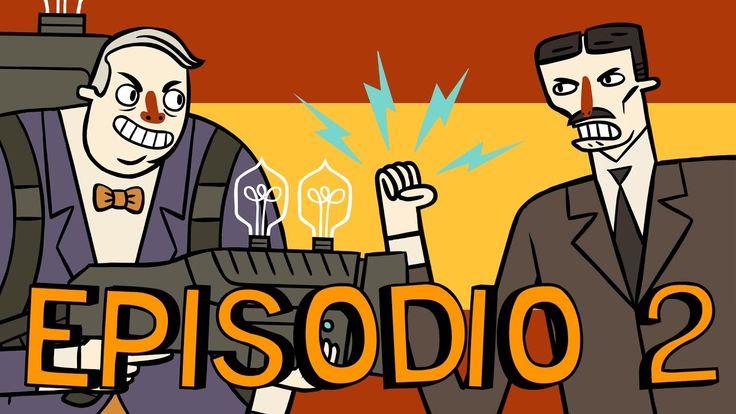Super Science Friends Episode 2: Electric Boogaloo | Spanish | Tesla vs....