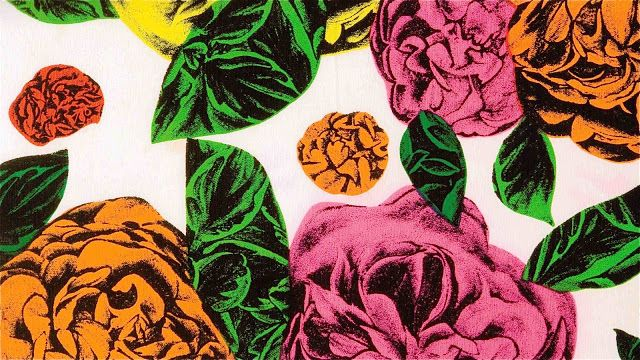 Little Violet Ribbon: 80'S FASHION PRINT
