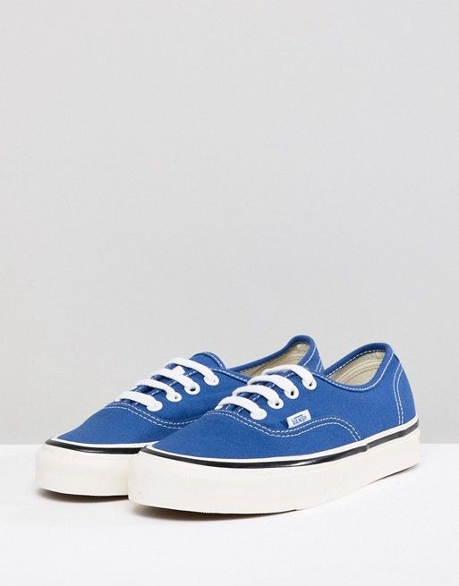 4a102d4207 Vans Anaheim Authentic Sneakers In Og Blue in 2018